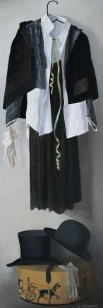 Katya Levental, Black and White #1 , 2009
