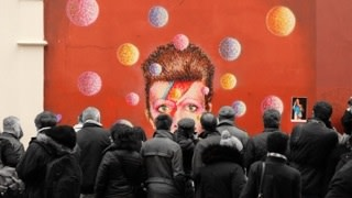 Brad Hobbs, In Memory of David Bowie II, 2015