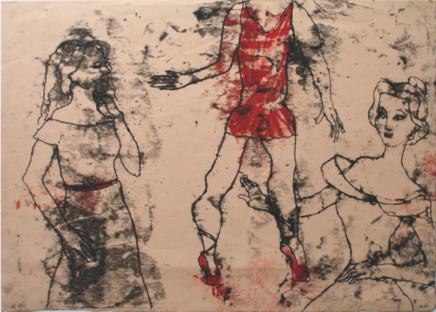 Roberta Kravitz, Dancers Monotype (2)