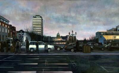 Erin de Burca, Liberty Hall - Traffic, 2008