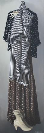 Katya Levental, Dots and Stripes, 2009