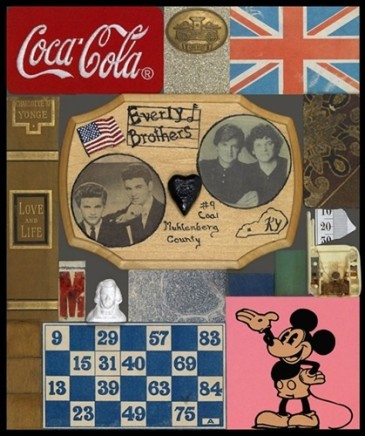 Sir Peter Blake, Wooden Puzzle Series- Everly Brothers, 2013