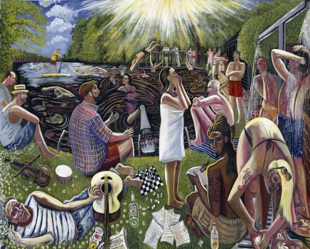 Ed Gray, The Mermaid of Hampstead Heath, 2012