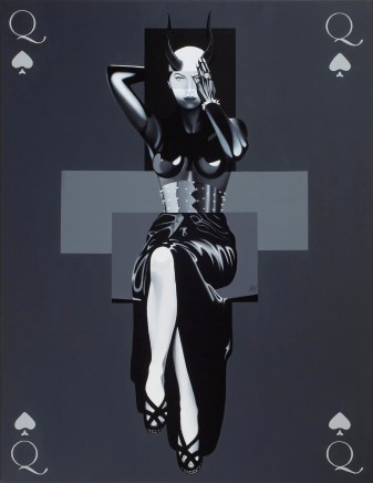 Alain Magallon, Queen of Spades, 2016