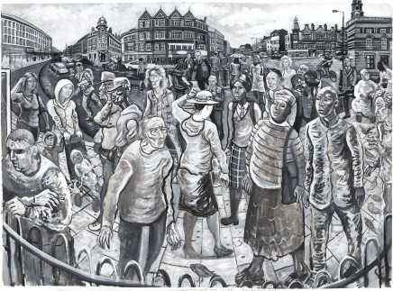 Ed Gray, On Camberwell Green (Monochrome), 2011