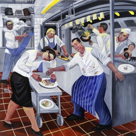 Ed Gray, Night Kitchen 2, Sonny's, Barnes, 2005