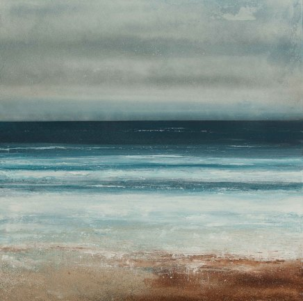 Alex Morton, Walking at Watergate Bay, 2016