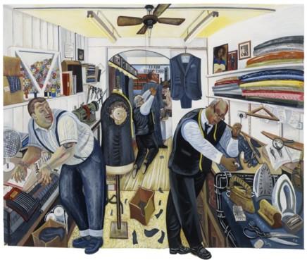Ed Gray, 'Rock of Eye', George Dyer, Threadneedleman Tailor o, 2011-12