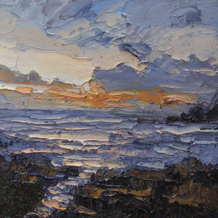 Colin Halliday, Sunset and Sea, 2015