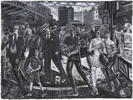 Ed Gray, Adoration of the Approach, Waterloo Station, 2018