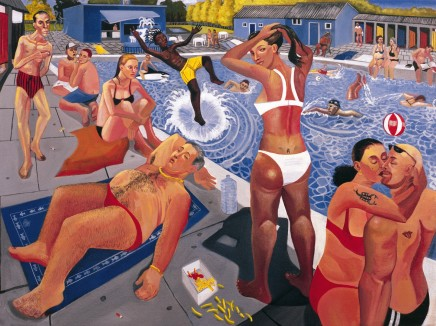 Ed Gray, Tooting Lido, 2005