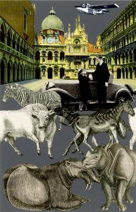 Sir Peter Blake, Exotic Beasts - Venice Suite, 2009