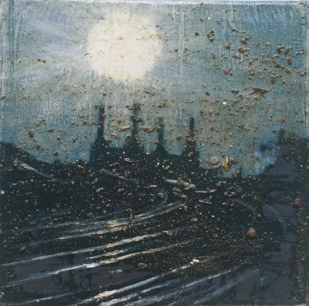 Colin Halliday, Battersea Power Station (Triptych), 2006