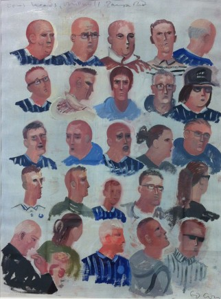 Ed Gray, Lions' Heads, Millwall, Zampa Road, 2014