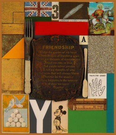 Sir Peter Blake, Wooden Puzzle Series- Friendship, 2013