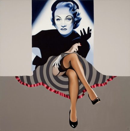 Alain Magallon, One For My Baby (Marlene Dietrich), 2015