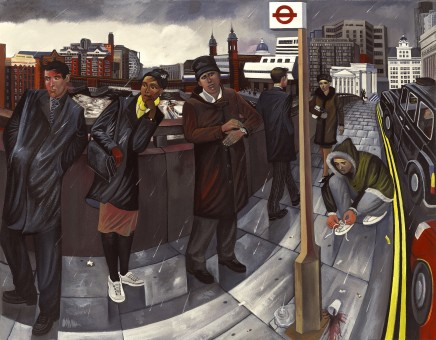 Ed Gray, Wintery Morning in London Bridge 2