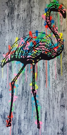 Humphrey Dettmer, Flamingo, 2016