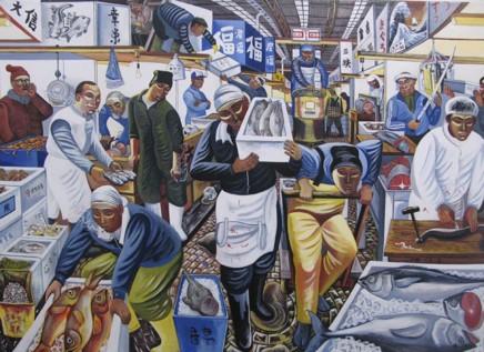 Ed Gray, Tsukiji Fish Market, 2009