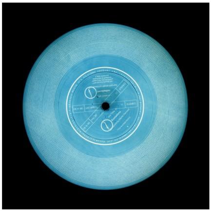 Richard Heeps and Natasha Heidler, This is a Free Record (Teal), 2014