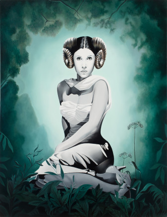Alain Magallon, Forbidden Planet (Carrie Fisher), 2017