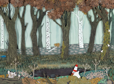 Hannah Battershell, The Disenchanted Forest, 2017