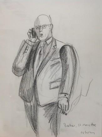 Ed Gray, Broker St Mary Axe, City of London, 2012