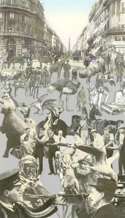 Sir Peter Blake, Paris - Men With Their Pets, 2011