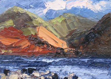 Colin Halliday, Wast Water With Shoreline, 2014-15