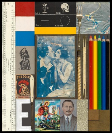 Sir Peter Blake, Wooden Puzzle Series- The Kiss, 2013