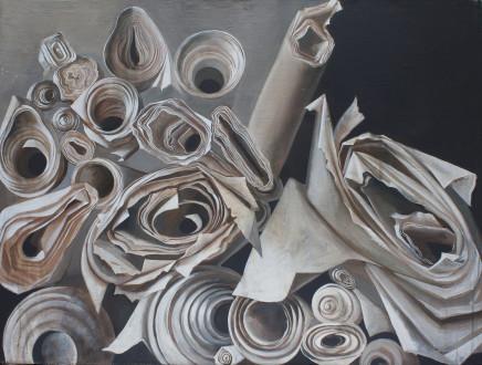 Katya Levental, Composition #11, 2016