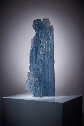 Michaela Smrček, Petrified Wood - Blue Smoke
