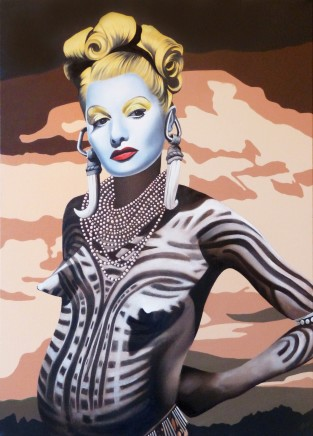 Alain Magallon, Lucille Ball, 2014