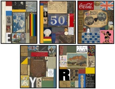 Sir Peter Blake, Wooden Puzzle Portfolio Set, 2013