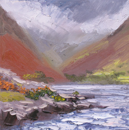Colin Halliday, Storm over Wast Water, 2016
