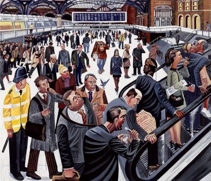 Ed Gray, Liverpool Street Station 1, 2007
