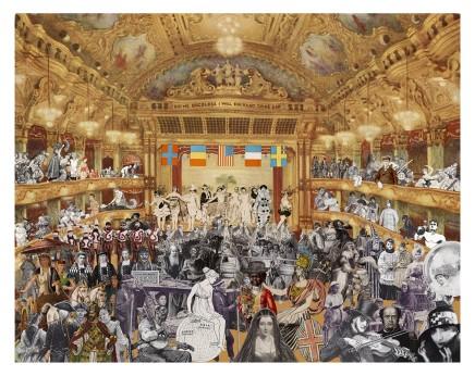 Sir Peter Blake, Marcel Duchamp's World Tour - New Year's Eve, 2015