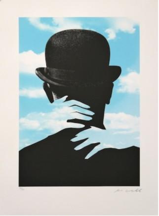 Joe Webb, Embrace Magritte, 2015