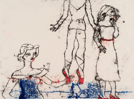 Roberta Kravitz, Dancers Monotype (1)