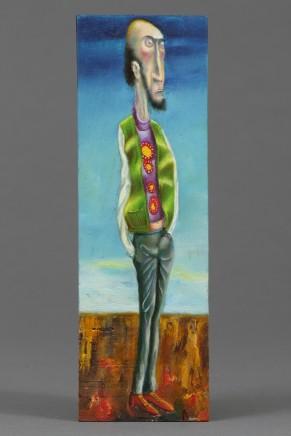 Carlos Cortes, Man In Green Vest, 2014-15