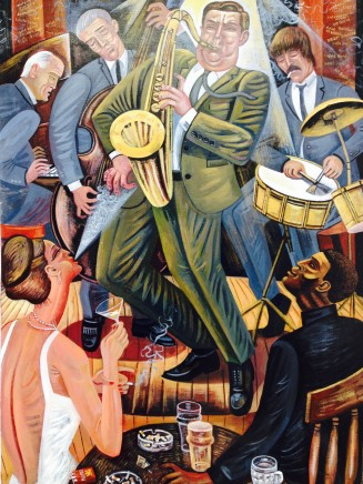 Ed Gray, Little Giant (A Man in a Hurry, Tubby Hayes at Ronnie Scott's), 2015
