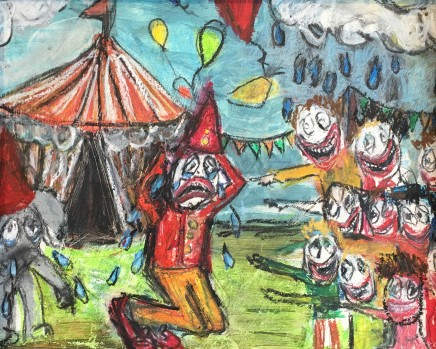 Alice Wisden, Clowned, 2016