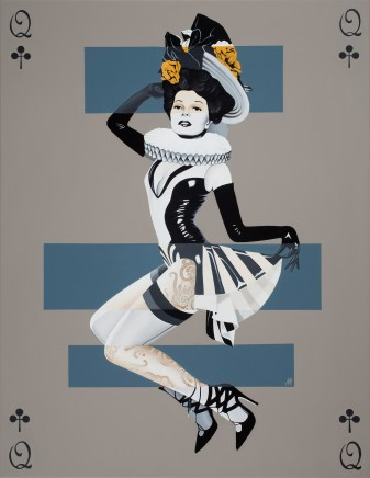 Alain Magallon, Queen of Clubs, 2016