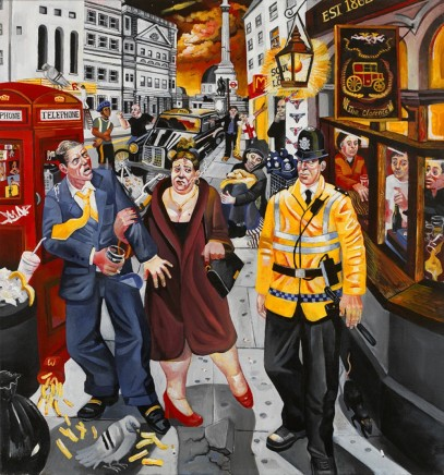 Ed Gray, Nighthawks Charing Cross, 2005