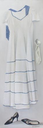 Katya Levental, Polka Dot Dress, 2014