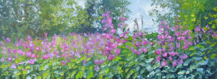 Colin Halliday, Foxgloves, 2016