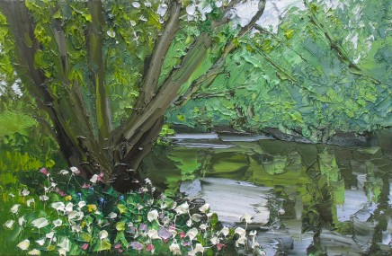 Colin Halliday, Wild Flowers Riverbank, 2014-15