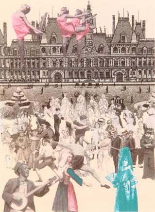 Sir Peter Blake, Paris Dancing - World Tour, 2010