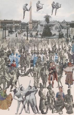 Sir Peter Blake, Dancing, Place de la Concorde