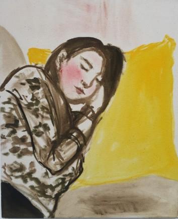 Roberta Kravitz, Holly on Sofa